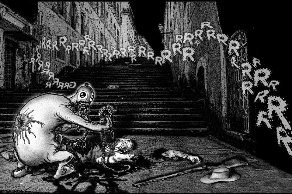 O Monstro Souza por Gabriel Girnos